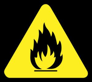 znak ogień